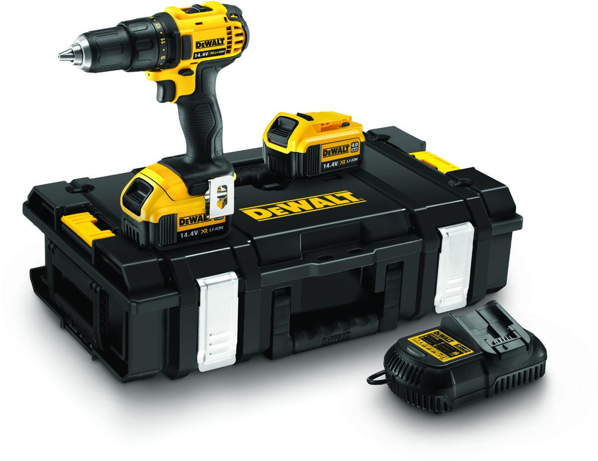 DeWALT bore/skruemaskine, 14,4V li-ion, 13 mm - køb til fast lav pris - Lomax A/S
