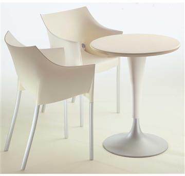 Kartell 4536 Dr. Na. Cafebord grøn - køb til fast lav pris - Lomax A/S