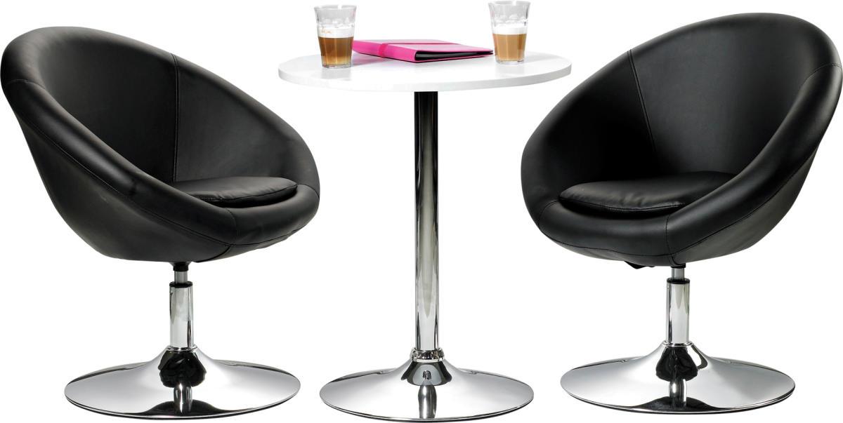 Luna loungesæt   2 x stol   1 bord   køb det hos lomax