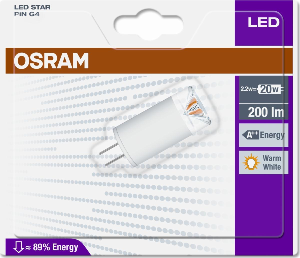 osram led specialp re g4 1 7w 20w k b til fast lav pris lomax a s. Black Bedroom Furniture Sets. Home Design Ideas