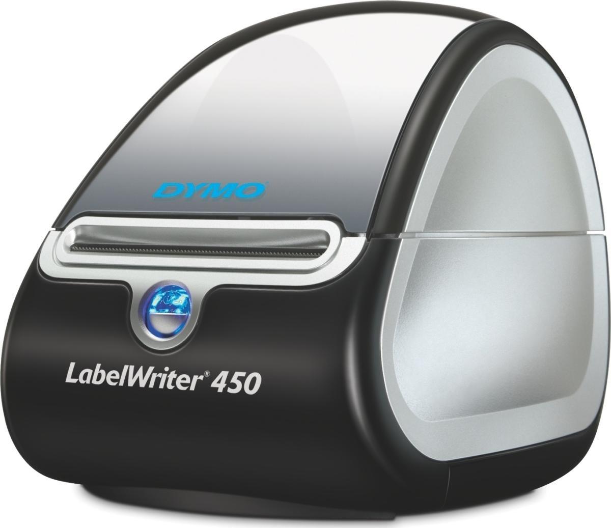 dymo labelwriter 450 labelmaskine k b til fast lav pris lomax a s. Black Bedroom Furniture Sets. Home Design Ideas