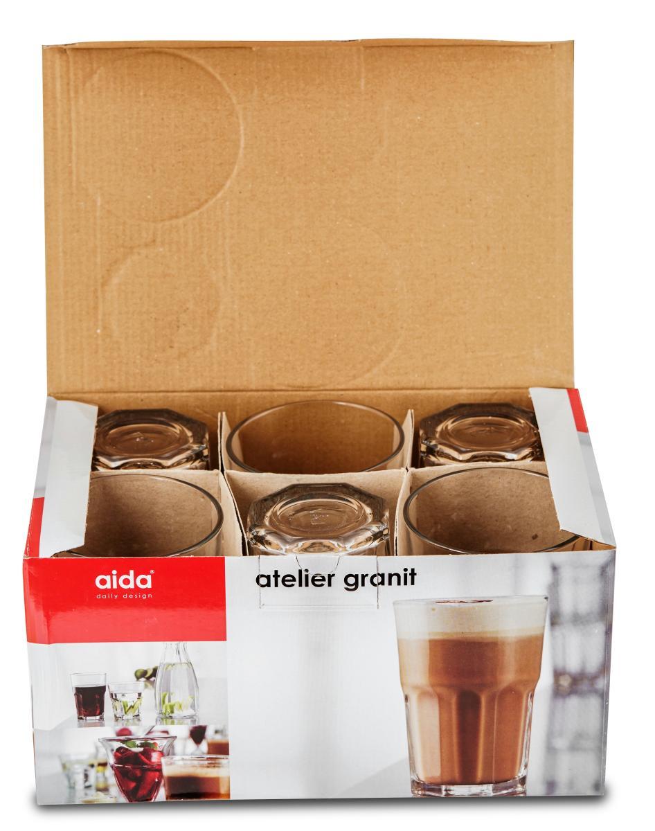 Aida Atelier Granit Drikkeglas, 36 cl - køb til fast lav pris - Lomax A/S