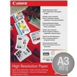 Canon HR-101N coated, A3/80g/20ark