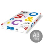 Rey Office Multipapir A3/80g/500ark