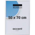 Accent Skifteramme 50 x 70 cm, sølv