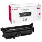 Canon nr.723M/2642B002AA lasertoner, rød, 8500s