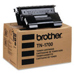 Brother TN1700 lasertoner, sort, 17000s