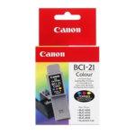 Canon BCI-21C blækpatron, farve, 100s