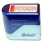 """Deskmate stempel med tekst: """"Fotokopi"""""""