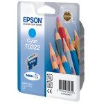 Epson nr.T032/C13T03224010 blækpatron, blå, 420s