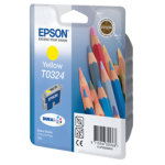 Epson nr.T032/C13T03244010 blækpatron, gul, 420s