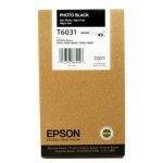 Epson C13T603100 blækpatron, fotosort, 220ml