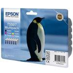 Epson nr.T5597/C13T55974010 blækpatron, sampak
