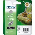 Epson nr.T034/C13T03474010 blækpatron, lys sort, 4