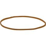 Elastikker nr. 14-16-18, 500g, brun