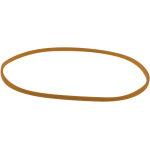 Elastikker nr. 20, 500g, 100mm, brun