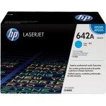 HP 642A/CB401A lasertoner, blå, 7500s