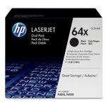 HP 64X/CC364XD lasertoner, sort, 2stk sampak