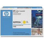 HP 643A/Q5952A lasertoner, gul, 10000s