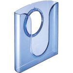 Leitz brochurebakke transparent, blå