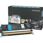 Lexmark 00C5220CS lasertoner, blå, 3000s