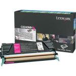 Lexmark 00C5240MH lasertoner, rød, 5000s
