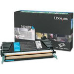 Lexmark 00C5340CX lasertoner, blå, 7000s