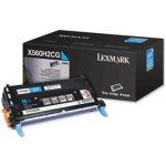 Lexmark X560H2CG lasertoner, blå, 10000s