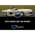 Oplevelsesgave - High speed tur i en Spider