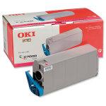 OKI 41963006 lasertoner, rød, 10000s