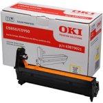 OKI 43870021 lasertromle, gul, 20000s
