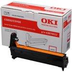 OKI 43870022 lasertromle, rød, 20000s