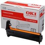 OKI 43870024 lasertromle, sort, 20000s