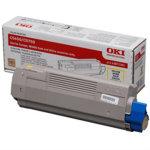 OKI 43872305 lasertoner, gul, 2000s