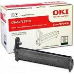 OKI 43870008 lasertromle, sort, 20000s