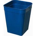 Bantex Orth papirkurv, 14 liter, blå