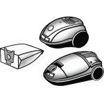 Støvsugerposer MSI 2204 Passer til: Bosch / Siemen