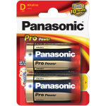 Panasonic str. D Pro Power Gold batteri, 2 stk