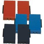 Stempelpude kompatibel til Alpo 60, 2 stk., blå