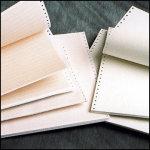 Matrix Printerpapir B.36,5 cmx H.8.5, brun