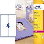 Avery L7769-40 manuelle etiketter, 139 x 99,1mm