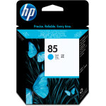 HP nr.85/C9420A printhoved, blå, 48000s