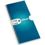 Esselte kollegieblok 140 x 297mm, linjeret, blå