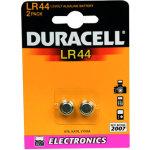 Duracell LR44 / AG13 knapcelle batterier, 2stk