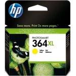 HP nr.364XL/CB325EE blækpatron, blister, gul, 750s