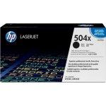 HP 504X/CE250X lasertoner, sort, 10500s