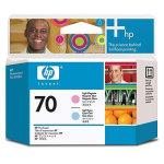 HP nr.70/C9405A printhoved, lys rød og lys blå