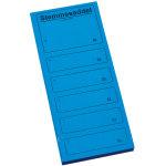 Ferco stemmeseddel 4705, 100 x 250mm, blå