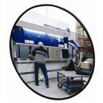 Industrispejl rundt ø60 cm, Akryl, inde/ude