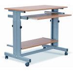 Tina terminalbord bøg/grå
